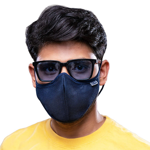 Posi+ve N99 Fog Free Face Mask Blue Medium