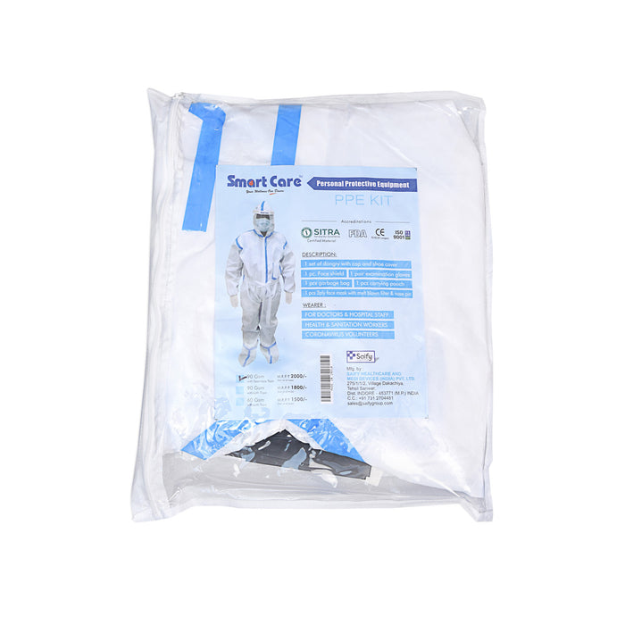 SMART CARE PPE KIT WITH TAPE 90GSM