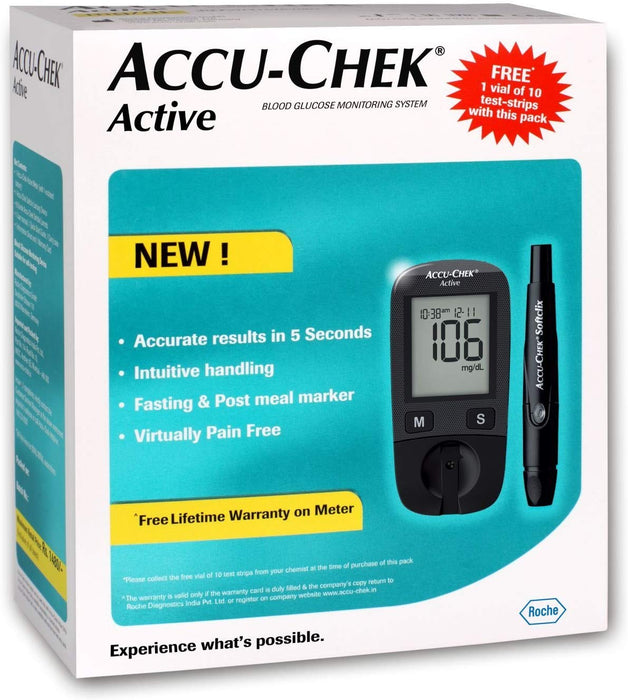 Accu-Check Active Blood Glucose Meter