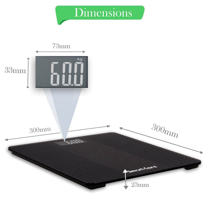 Digital Weight Scale Glass Top SC 181