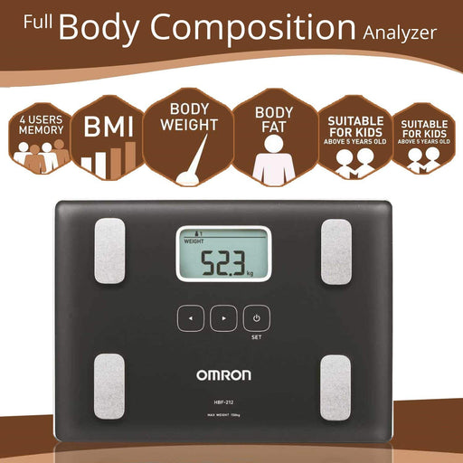 Body Fat Monitor HBF 212
