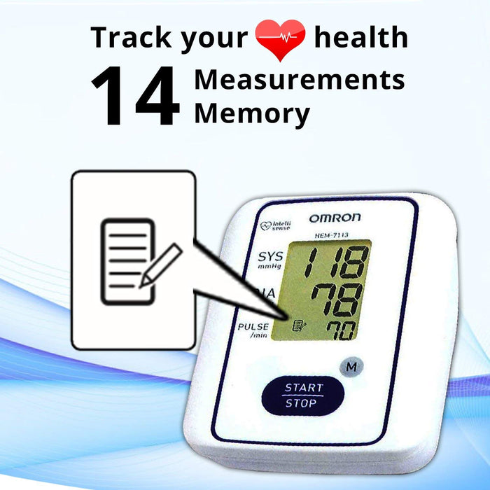 Blood Pressure Monitor HEM 7113