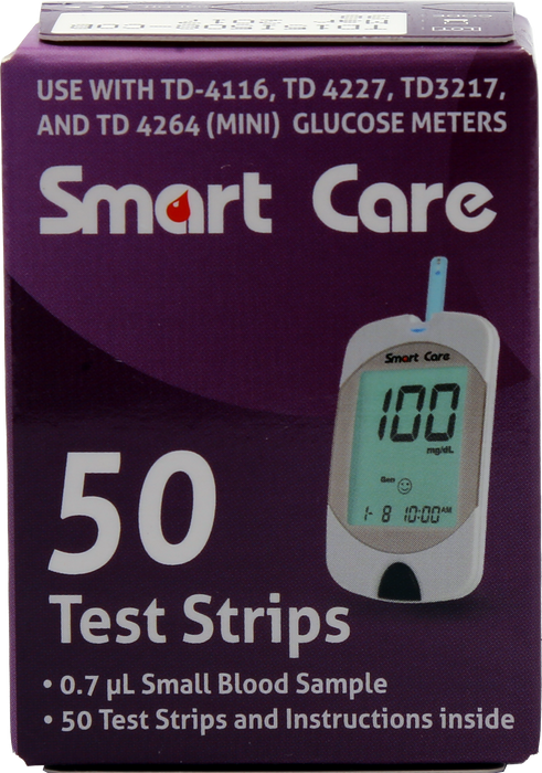 Blood Glucose Strips 50's Pack