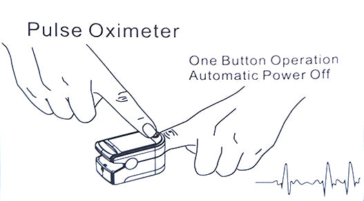 Fingertip Pulse Oxymeter 500A