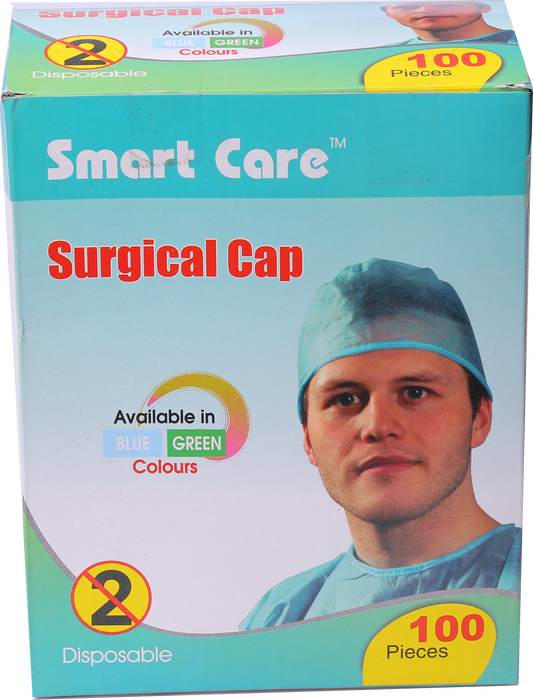 Surgeon Cap Individual Packing 100 Pcs