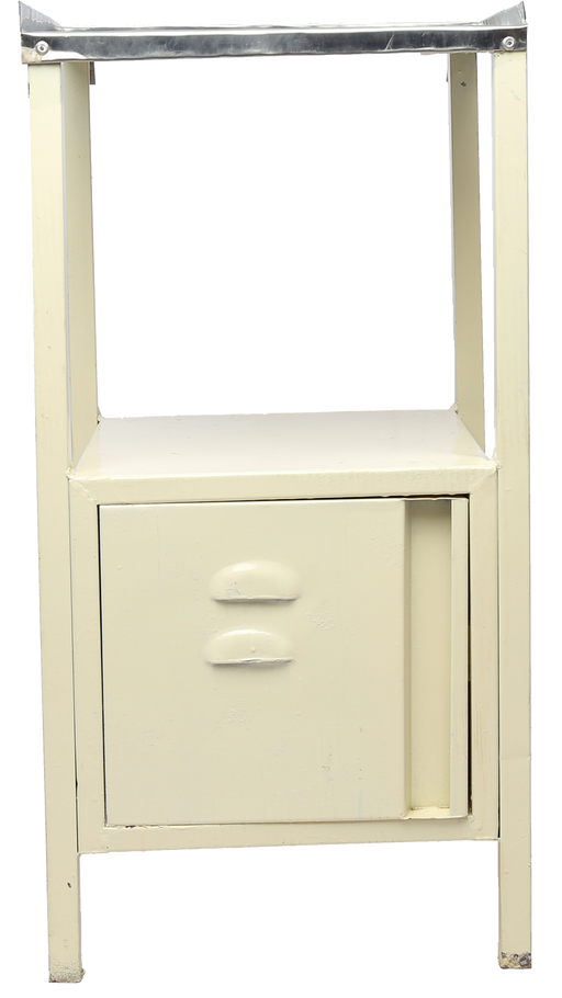 Bed Side Locker with S.S. Top