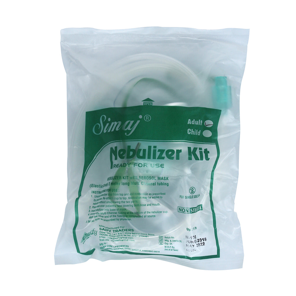 Nebuliser Kit with Adult Mask