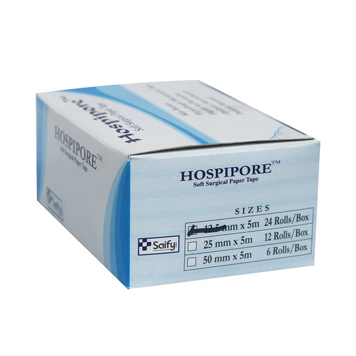 "Hospipore Surgical Paper Tape 1/2"" 5 MTR"
