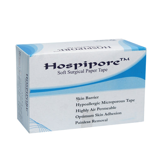 "Hospipore Surgical Paper Tape 1"" 5 MTR"