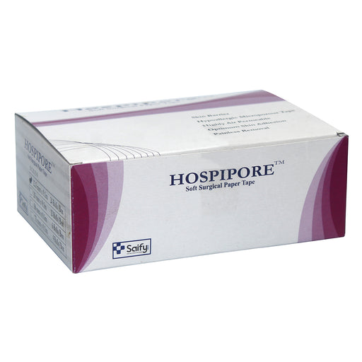 "Hospipore Surgical Paper Tape 1/2"" 9 MTR"