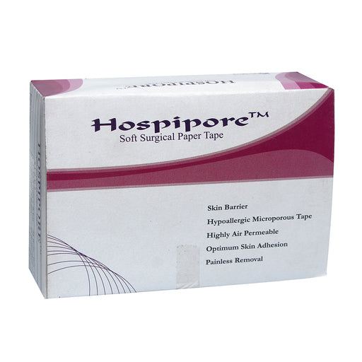 "Hospipore Surgical Paper Tape 3"" 9 MTR"