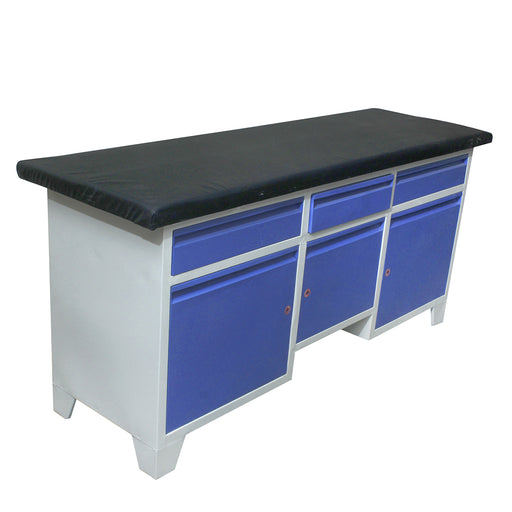Examination Table with Cabinets
