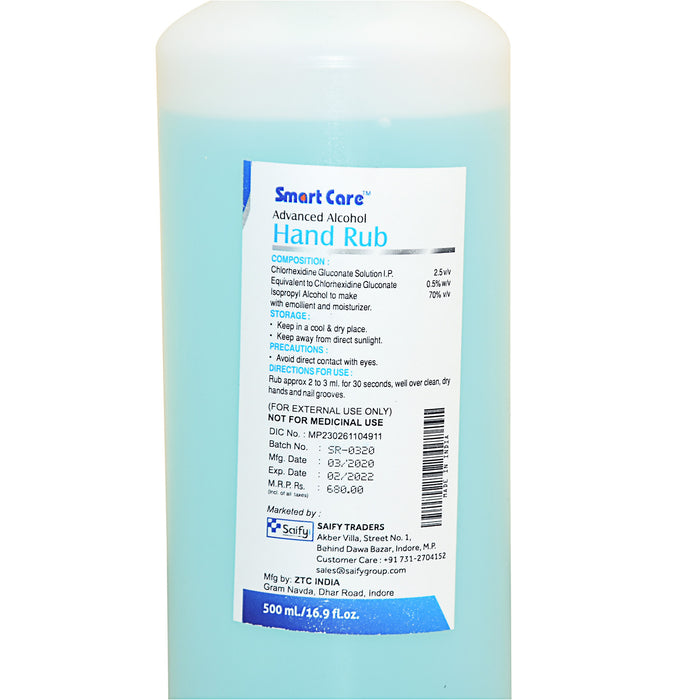 SMART CARE SANITIZER ALCOHOL 500ML