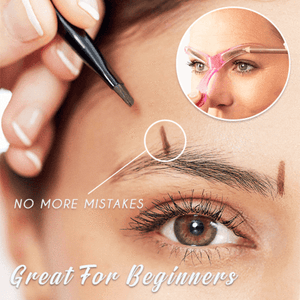 DefineBrows™ - Easy Eyebrow Shaper Template Stencil