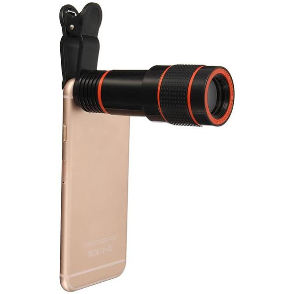 ZoomLens™ 12x Zoom Telescopic Mobile Phone Lens Smartphones Phone Accessories