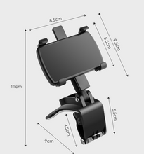 Load image into Gallery viewer, ClipperGo™ Universal Car Dashboard Phone Holder 360 Degree Rotation Adjustable Stand Bracket Clip Support