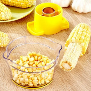CornPeel™ Corn Thresher  Quickly Peel Corn Stainless Steel Rotating Corn Thresher