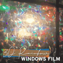 Load image into Gallery viewer, Rainbow.Ly™ 3D Rainbow Window Film