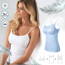Load image into Gallery viewer, BraCami™ Tank with Built-In Bra Womens Wireless Bras Seamless Bra Padded Tank Top Straps