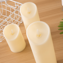 Load image into Gallery viewer, CandleLite™ 3Pcs LED Simulation Candles Light Flameless Moving Wick With Timer & Remote Control