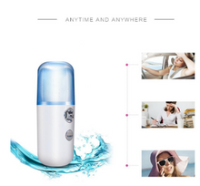Load image into Gallery viewer, FreshFace™ 30ML Mini Rociador Facial Nano Facial Sprayer USB Nebulizer Face Steamer Humidifier