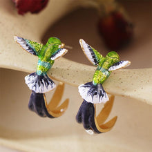 Load image into Gallery viewer, LuckyJewels™ Lovely Hummingbird Earrings Women's Cute Fashion Accessories