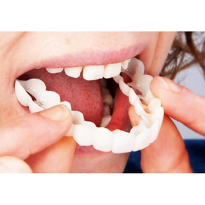MagicTeeth™ Denture Care False Dental Tooth for Upper Teeth Dental Snap On Smile
