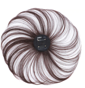 Hairxtend™ Magic Clip-on Hair Topper Human Hair Hairpiece Hair Extension