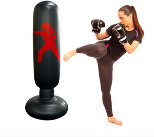 AirBox™ PVC Inflatable Boxing Punching Bag Stress Punch Tower Speed Bag for Kids and Adult