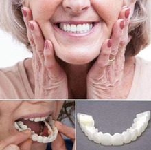 Load image into Gallery viewer, MagicTeeth™ Denture Care False Dental Tooth for Upper Teeth Dental Snap On Smile
