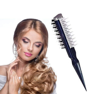 VolumeComb™ Hair Style Comb Instant Hair Volumizer Hair Styling Comb Shark Brush Portable Combing Brush