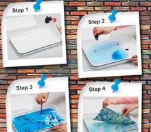 Load image into Gallery viewer, MarblePaint™ Hydrographics Water Transfer Painting Set Creative Art Marbling Painting On Water