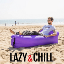 Load image into Gallery viewer, LazyBed™ Ultralight Inflatable Lounger Outdoor Camping bed Lazy Bag Sleeping Pad