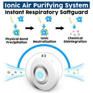 Freshlace™ Ionic Air Purifier Necklace Mini Portable USB Air Cleaner Negative Ion Generator