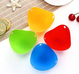 EggPochi™ Silicone Egg Poacher Poaching Pods Pan Mould Kitchen Cooking Tool