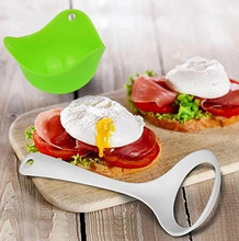 Load image into Gallery viewer, EggPochi™ Silicone Egg Poacher Poaching Pods Pan Mould Kitchen Cooking Tool