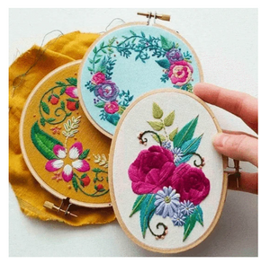 EmbroiNeedle™ Easy Punch Needle Embroidery Set Magic Embroidery Pen DIY Crafts Magic Embroidery