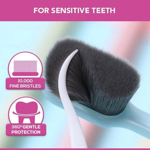 ExtraBrist™  Ultra Fine 10K Bristle Toothbrush Portable Travel Eco-friendly Brush Tooth Care Oral Cleaning