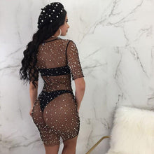 Load image into Gallery viewer, FishnetWear™ Summer Women Sexy Bikini Cover Up Dress Mesh Fishnet Swimsuit
