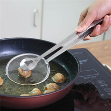 Load image into Gallery viewer, StrainerClamp™ Multi-functional Filter Spoon With Clip Food Kitchen Oil-Frying Salad BBQ Filter
