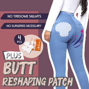 ButtPatchie™ Butt-Lift Shaping Patch Moisturizing Gentle Plant Extracts Buttock Lifting