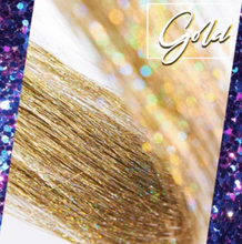 Load image into Gallery viewer, TwinkleHair™ Sparkle Hair Tinsel Extension Clips Hair Accessories Glitter Hair Party Holographic