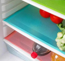 Load image into Gallery viewer, RefMat™ Washable Refrigerator Fridge Mat Pad 4 pcs Drawer Liner Kitchen Shelf Mat
