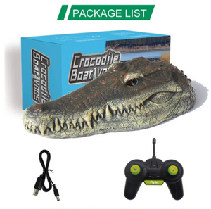 CrocHeadBoatControl™ Crocodile Head Remote Control 2.4G RC Boat