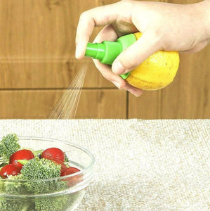 CitrusSpray™ Lemon Sprayer Gadget Set Of 4 Citrus Orange Lemon Lime Manual Sprayer
