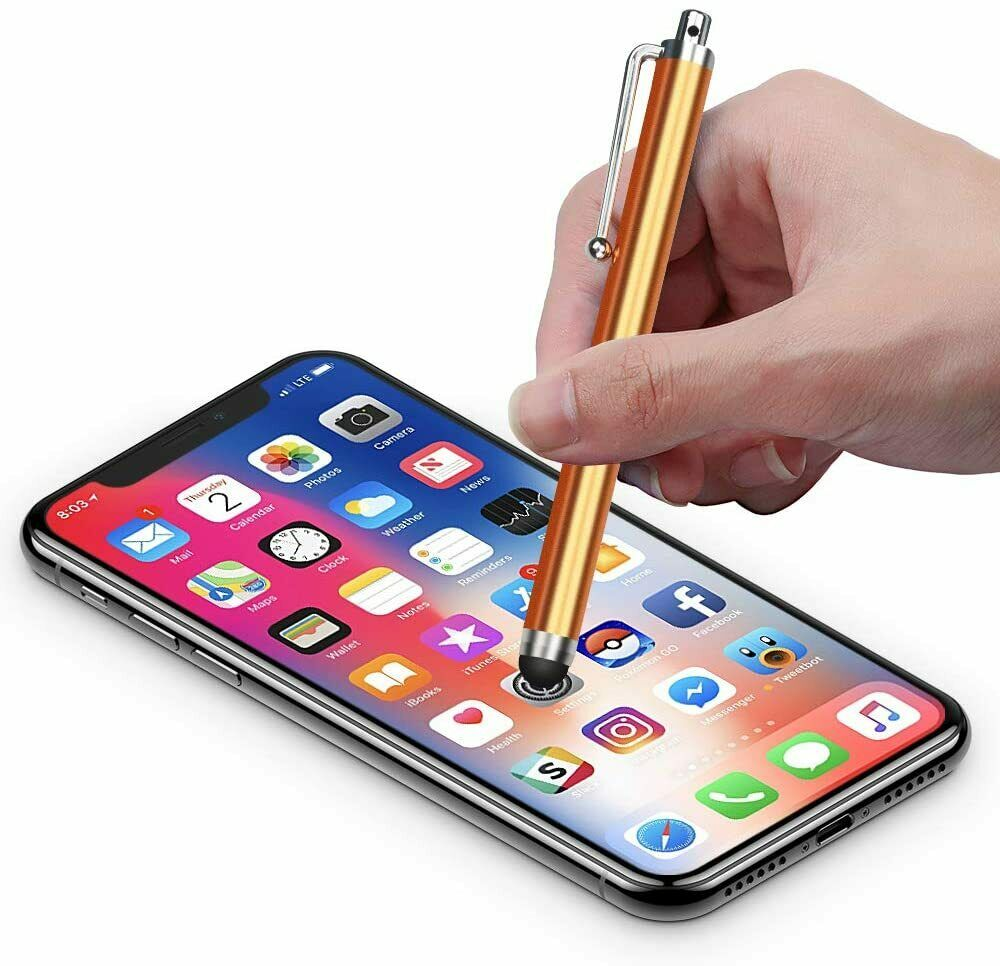 SmartUnipen™ Universal Touch Screen Stylus with Soft Rubber Tips for Smartphones and Tablets