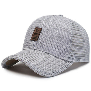 StreetGear™  Breathable Mesh Cap Unisex Fashion Baseball Cap Hat Visor