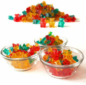 MiniBears™ Gummy Bear Mold Candy Making Chocolate Ice Maker Silicone Molds 3 Packs