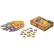 Load image into Gallery viewer, ShiningFish™ Fish Wooden Jigsaw Puzzle Best Gift for Adults and Kids