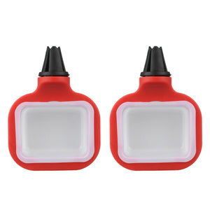 SauceFit™ In-car Sauce Dip Clip Car Vent Sauce Holder For Ketchup Barbeque Sauce Dips